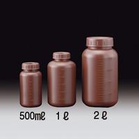 サンプラテック サンプラフロロバリア遮光瓶広口 2L  26232 1本 (直送品)
