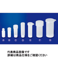 サンプラテック PFAオートサンプラーバイアル バイアル本体+12mmプッシュオン蓋付 23018 10個 (直送品)