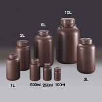 サンプラテック PE広口遮光瓶 サンプラ 10L 02917 (直送品)