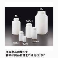 サンプラテック(SANPLATEC) PE広口瓶 1L 50本入 02086 1箱(50個) (直送品)