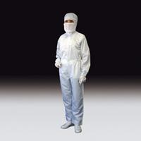 サンプラテック カバーオール 無塵服 BSCー12001 サイズ:8L 白 16716 1枚 (直送品)