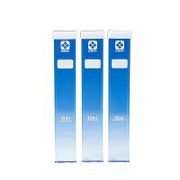柴田科学 角形試験管 シリコンキャップ付 3個入  080540-0210A 1箱 (直送品)