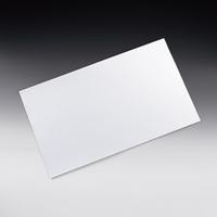サンプラテック 吸着式ホワイトボード 500×600mm  17608 1枚 (直送品)