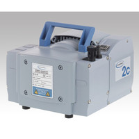 バキューブランド ダイヤフラム式真空ポンプ MZ2C NT 1台 1-2415-01 (直送品)