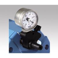 バキューブランド ダイヤフラム式真空ポンプ マノメーター付減圧調整器 1個 1-2879-11 (直送品)