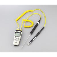 アズワン デジタル温度計 2ch TM-82N 1台 1-3429-02 (直送品)