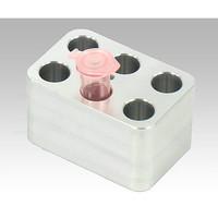 アズワン ドライバス・インキュベーター用 ブロック 1.5mLチューブ 6本用 1個 1-2921-12 (直送品)