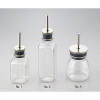 アズワン 給水瓶 SN-953No.2 200mL 1式 1-3384-02 (直送品)