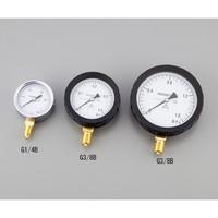 アズワン 汎用圧力計A形φ100 G3/8B2.5 1個 1-7508-07 (直送品)