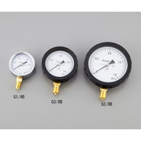 アズワン 汎用圧力計A形φ60 G1/4B0.1 1個 1-7465-01 (直送品)