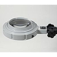 アズワン LED照明拡大鏡 LED-040S 1台 1-5607-03 (直送品)