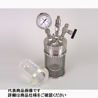 アズワン 加圧反応ガラス容器ミニクレーブ200ml 1-6929-02 1式 1-6929-02 (直送品)