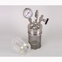 アズワン 加圧反応ガラス容器ミニクレーブ250ml 1-6929-03 1式 1-6929-03 (直送品)