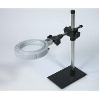 アズワン LED照明拡大鏡 LED-020S 1台 1-5607-01 (直送品)