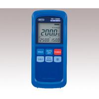 安立計器 ハンディタイプ温度計 Kタイプ スタンダード 分解能切り替え・アナログ出力機能(1mV/℃)付 1台 2-1082-06 (直送品)