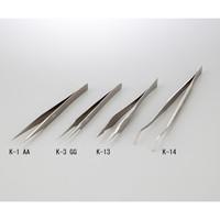 アズワン ピンセット K-1 AA チタン 1本 1-9749-32 (直送品)