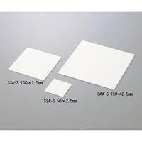 ニッカトー 焼成用セッター SSA-S 50×2.5mm 1枚 1-8321-01 (直送品)