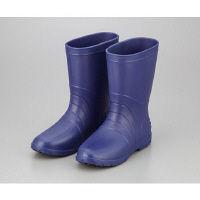 アズワン サニフィット耐油長靴(軽量タイプ) 28.0cm 青 男性用 1足 2-3811-04 (直送品)