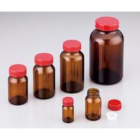 アズワン 規格瓶(広口) 茶褐色 No.4 37.5mL 1本 2-4999-03 (直送品)