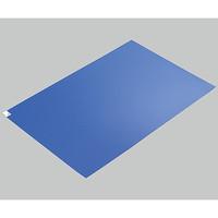 アズピュア(アズワン) エコノミー粘着マット 青 600×900 1枚(10シート) 2-4909-02 (直送品)