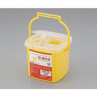 ナビス 医療用廃棄物回収容器 D-BOX1.5L 1個 8-9523-01 (直送品)