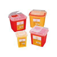 アズワン ディスポ針ボックス 黄色 3L 8-7221-02 1個 (直送品)