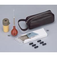 ガステック(GASTEC) スモークテスタセット用発煙管 501 6本/箱 1箱(6本) 1-2321-11 (直送品)