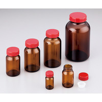 アズワン 規格瓶(広口) 茶褐色 250mL No.14 1本 2-4999-10 (直送品)