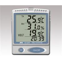 エー・アンド・デイ(A&D) 熱中症指数モニター(壁掛・卓上型) AD-5693 1台 1-9293-02 (直送品)