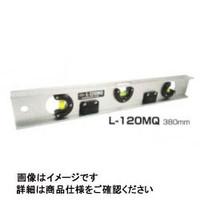 アカツキ製作所 マグネット付アルミレベル Lー120MQ 600ミリ L-120MQ600MM 1本 (直送品)