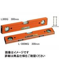アカツキ製作所 マグネット付アルミレベル 45度気泡管付 Lー300MQ 300ミリ L-300MQ300MM 1本 (直送品)
