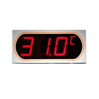 マザーツール デジタルLED表示大文字温度計  MT-872 1台 (直送品)