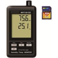マザーツール デジタル温湿度計  MHT-381SD 1台 (直送品)