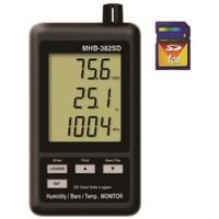 マザーツール デジタル温湿度・気圧計  MHB-382SD 1台 (直送品)