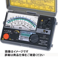共立電気計器 2レンジ小型絶縁抵抗計  3147A 1台 (直送品)