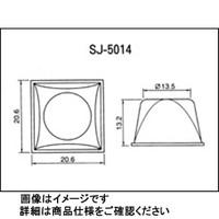 コクゴ バンボンクッション 品番SJー5014黒 88個入 SJー5014 1シート(88個入) 03ー331ー15 (直送品)