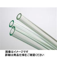 コクゴ 耐寒透明ホース ポリ塩化ビニール 内径7mm×外径11mm 25m 102-22805 (直送品)
