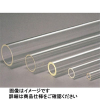 コクゴ アクリルパイプ 52mm×2mm×1000L  1本 107-18939 (直送品)