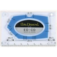 エビス エビスダイヤモンド カードレベル・ブルー ED-CDBL 1枚 410-5401 (直送品)