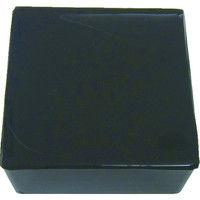 エクシールコーポレーション 防振・緩衝ブロック ゲルダンパー 黒 100X100mm 15-100 1個 410-5915 (直送品)
