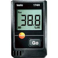 テストー(TESTO) ミニ温湿度データロガ TESTO174H 1台 411-3225 (直送品)