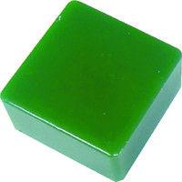 エクシールコーポレーション 防振・緩衝ブロック ゲルダンパー 緑 50X50mm 50-50 1個 410-5966 (直送品)