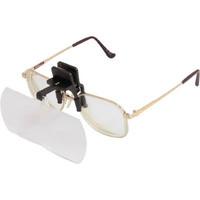 池田レンズ工業 双眼メガネルーペクリップタイプ2倍 HF-40E 1個 417-1870 (直送品)