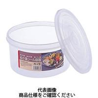 リス(RISU) シール容器 浅丸 6型 GSIS292 1個 419-2028 (直送品)
