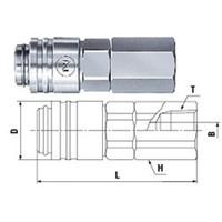 日東工器 スモールカプラ MSー10SF BSBM  MS-10SF-BSBM 1個 (直送品)