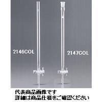 AGCテクノグラス クロマトグラフ管(テフロンコック付) 20mm 1ケース1本入 2146COL20 1ケース  (直送品)