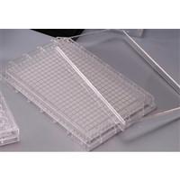 AGCテクノグラス 組織培養用マイクロプレート(付着性細胞用) 384well(クリアー) 1ケース50枚入 3721-384 1ケース  (直送品)
