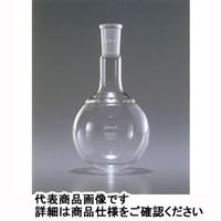 AGCテクノグラス 共通摺合せ丸底フラスコ 100mL 規格15 1ケース1本入 4320FK100-15 1ケース  (直送品)