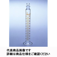 AGCテクノグラス 有栓メスシリンダー(ニュースタンダード) 25mL 1ケース1本入 CYLWS25S 1ケース  (直送品)