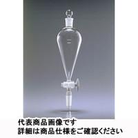 共通摺合せ分液ロート(スキーブ形,TS栓,TSストップコック,TS下部ジョイント付) 500mL 1ケース1本入 6415FS500-24R 1ケース(直送品)